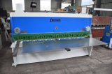 Máquina de corte de corte da chapa de aço de carbono do ferro da máquina da placa de metal do aço QC11K-8*3200 inoxidável