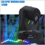 Gobo 패턴 120W 이동하는 맨 위 반점 LED 빛