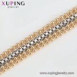75105 el lujo de moda grandes joyas chapado en oro de zirconio Pulsera