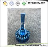 LEIDENE van het Aluminium van de fabriek Lamp Heatsink met Visserij Anodinizing