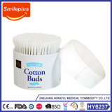 Made in Clouded Plastic Box Knitting machine Swabs/Cotton Bud