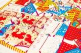 Multi Farben-Form-Entwurfs-Frauen-Silk Schal-Großverkauf