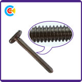 Stainless Steel Flat Tail T Head Fastener Screw for Bathroom