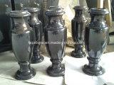 Vaso di pietra di marmo naturale/del granito del memoriale/Headstone/pietra tombale/lapide/monumento per gli accessori del vaso fiore del cimitero/di funerale
