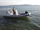 Роскошный 6.2m Liya ребра надувные лодки корпуса с жесткой рамой