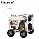 type de bâti 7kVA ouvert prix de groupe électrogène de moteur diesel (DG7000E3)