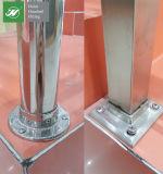 Bride de grand dos d'acier inoxydable pour les postes ou les balustrades carrés 40X40