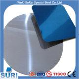 cerchio polacco spesso dell'acciaio inossidabile della superficie 201 di 0.2mm