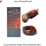 Trekking desfrutar a vida lenços de Impressão Digital Headwear Tubular Quikly respirável seco (YH-HS186)