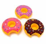 Het mini Drijven van de Houder van de Drank van de Doughnut van pvc Opblaasbare Rode