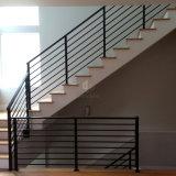 별장 집 계단 방책 탄소 강철 분말 입히는 단단한 로드 방책