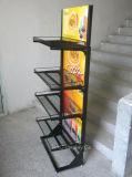 4 Reihe-Qualitäts-heißer Verkaufs-Shampoo-Ausstellungsstand
