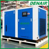 Stationaire Vrije Olie Minder Compressor van de Lucht van het Type van Schroef Oilless voor Textiel