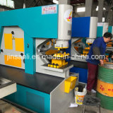 El túnel ferroviario/placa de metal perforado Milti-Functional Cutthing Entallado de flexión de la máquina