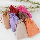Sacchetti del regalo del Drawstring di Linenette (FLY-SS70003)