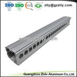 ISO9001를 가진 은에 의하여 양극 처리되는 지구 알루미늄 LED 열 싱크