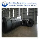 Bobinas de acero laminado en caliente, Hr bobina de acero al carbono laminado en frío de las bobinas de banda de acero