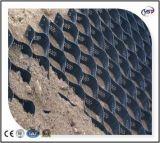 Hochfestes geschweißtes HDPE PlastikGeocells für Stützmauer