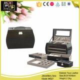 Paquete de pantalla de joyas Joyas de cuero de PU Gabinete Box (8027)