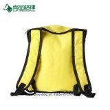 Kundenspezifischer einfacher Reißverschluss-Abschluss-Polyester-kühler Rucksack-kalter Nahrungsmittelspeicher-Beutel