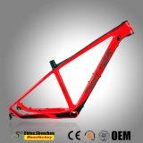Новейшая конструкция внутренней маршрутизации всех кабелей углерода Mountian велосипедной рамы