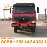고품질 아프리카 시장을%s 새로운 물통을%s 가진 12의 바퀴 팁 주는 사람을%s 가진 사용된 HOWO 덤프 트럭