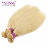 Extensión recta rubia peruana de calidad superior del pelo humano de Yvonne