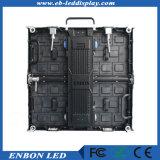 P3.91 Piscina 500 X 500 mm Die-Cast LED do gabinete do painel de parede de vídeo