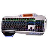 Design super mecânica de jogo com fio USB do teclado