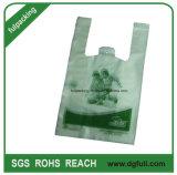 高品質のPolyteneのハンドルのベスト袋