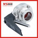 Gesundheitliches hygienisches Drosselventil des China-Edelstahl-SS304 SS316L Tc