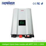 2018 Fabrication favorable des prix panneau solaire hybride de convertisseur de puissance 6000W 48VCC