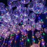 Свет рождества воздушного шара СИД Bobo гелия
