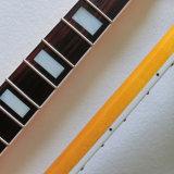 Collo canadese della chitarra dell'acero della grande della testa motrice nitro del raso tinta dell'annata
