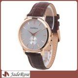 Reloj cristalino resistente caliente del cuarzo del metal de agua de la venta del OEM
