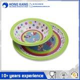 Vaisselle de cuisine multicolore respectueuse de l'environnement de mélamine de jeux de dîner d'appareil ménager