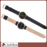 Горячий продавая водоустойчивый wristwatch кварца неподдельной кожи