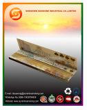 Papel de balanceo de Brown de la goma árabe natural de la marca de fábrica del OEM que fuma