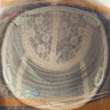 Cappello a cilindro superiore di seta pieno della parte dei capelli dei capelli biondi (PPG-l-01857)