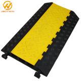 couverture en caoutchouc de cordon de fentes de l'étage 3 de jupe jaune de 900*500*75mm