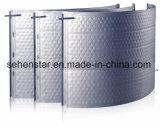 Plaque de palier de plaque de bosse de plaque d'échange thermique de haute performance