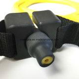 Bandes simples d'exercice de résistance de latex de sport avec la gymnastique à la maison réglable