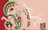 Luna caliente OEM vender cigarrillos de papel de rodadura de Mono rojo