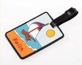 Viagens Personalizadas Customizabe etiqueta de bagagem em PVC maleável
