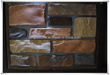 Künstlicher beige kultivierter Felsen-Gesichts-Stein für Außenwandverkleidung