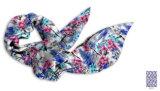女性のための少し花の純粋な絹のスカーフ