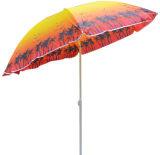 Parasol de playa de encargo de la protección ULTRAVIOLETA de Shenzhen promocional