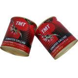 Горячий продавать дважды в основном консервированных томатной пасты 400g Тин размера