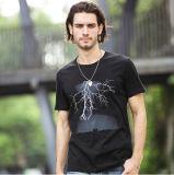 Imprimé personnalisé occasionnels hommes T-shirts en coton