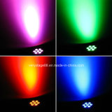 7X12W RGBWA 5 In1 LED bewegliches Hauptträger-Stadiums-Licht